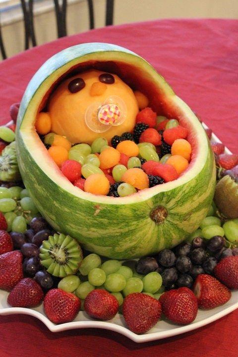 berço fruta cha bebe
