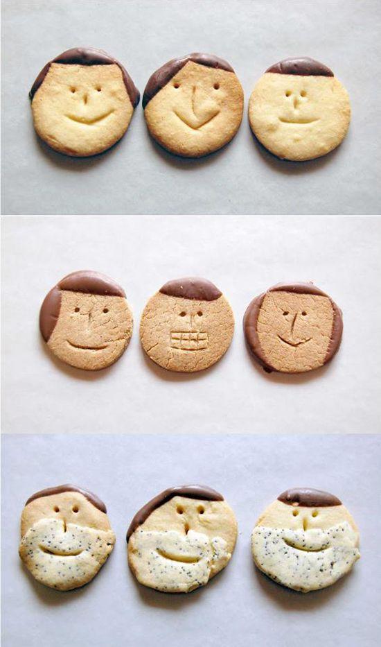biscoitos para dia das maes