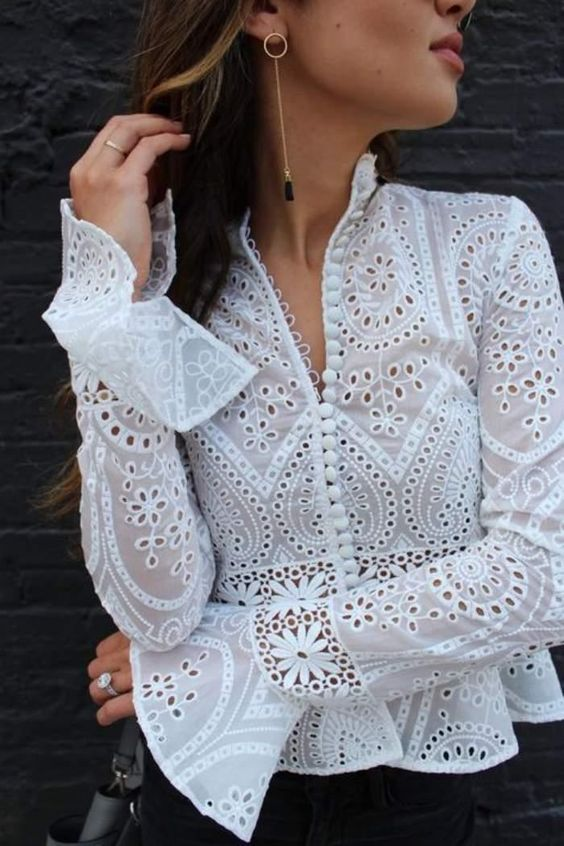 blusa moda modelos