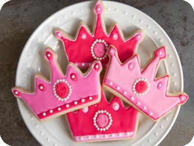 bolachas decoradas de princesa
