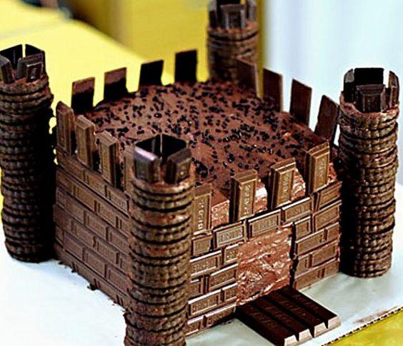 bolo castelo chocolate