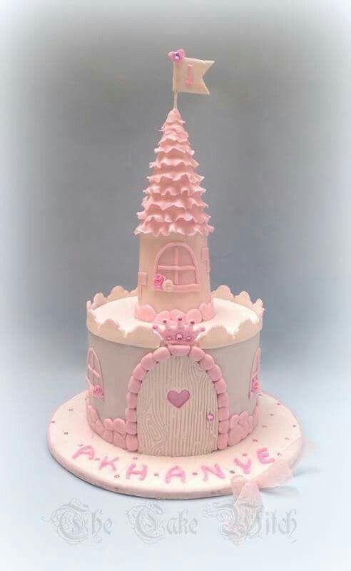 bolo castelo menina