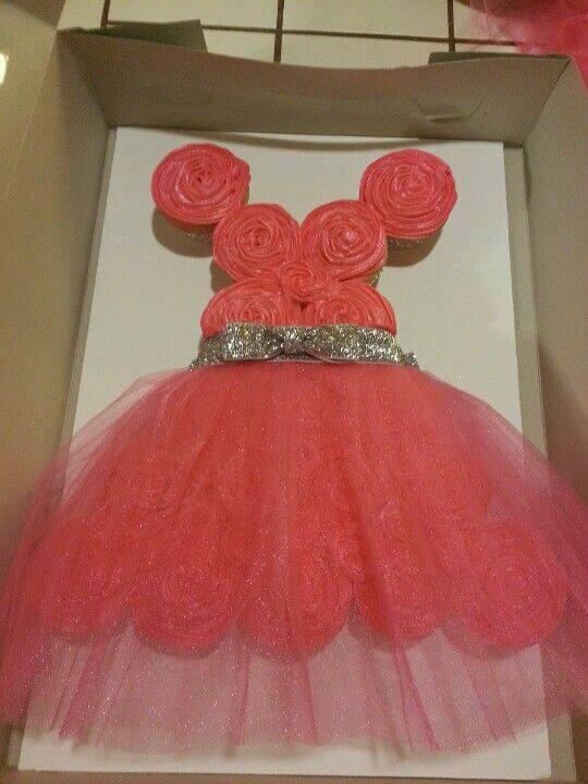 bolo de vestido de princesa