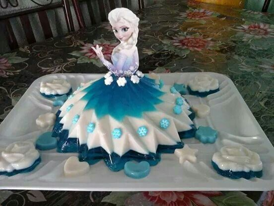 bolo gelatina frozen