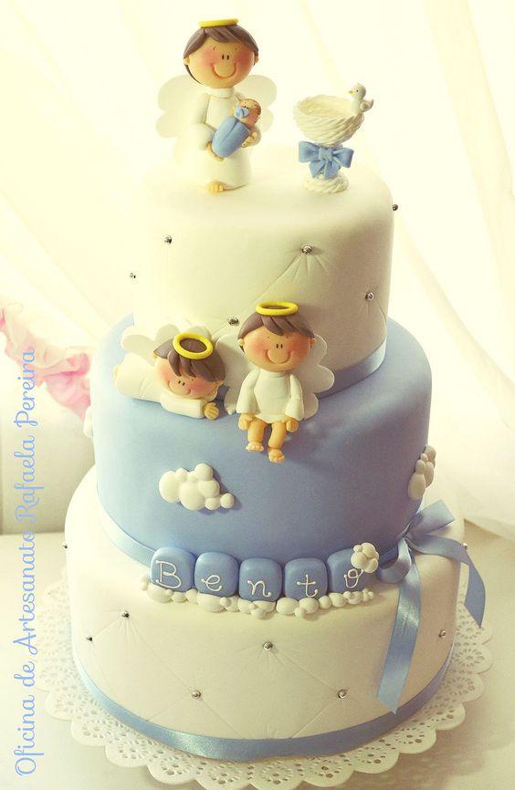 bolo para batismo