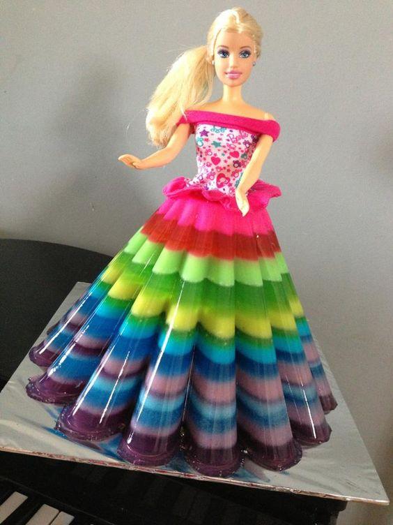 bolo princesa gelatina