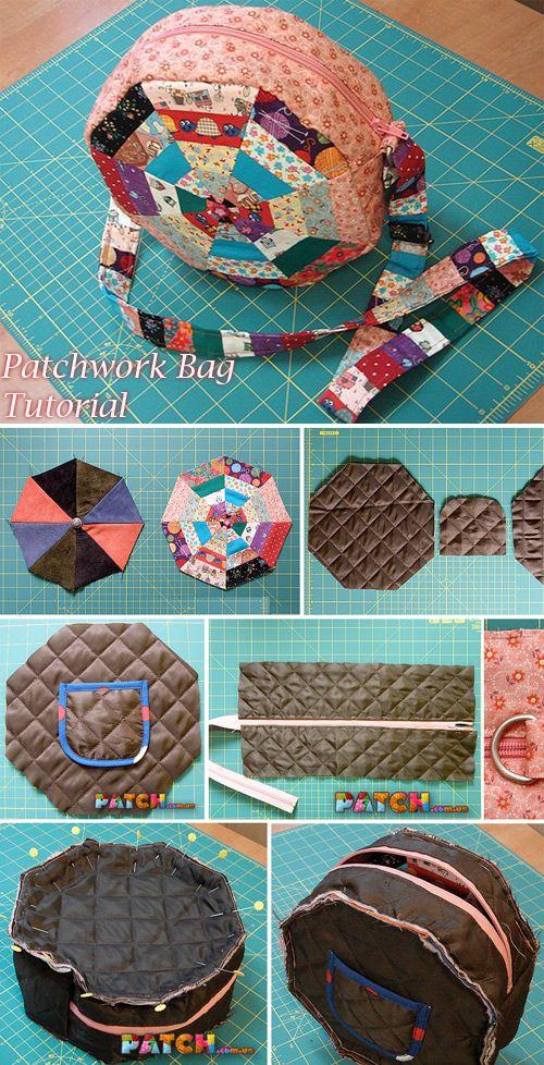 bolsa patchwork ideias tutoriais