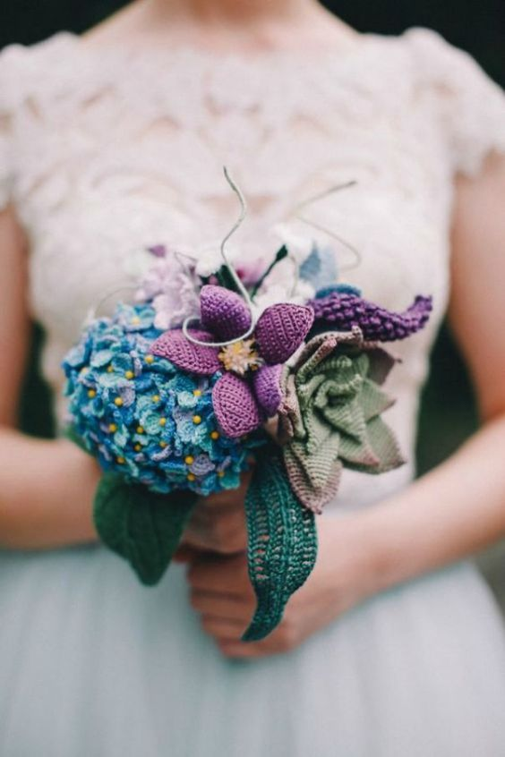 bouquet casamento croche 1