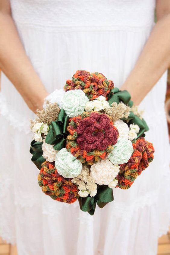 bouquet casamento croche 2