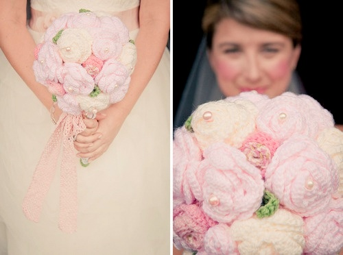 bouquet casamento croche