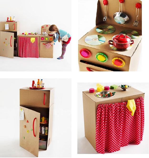 10 brinquedos feitos de cart o - Di como cocinas ...