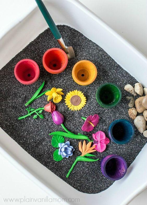 brinquedos sensorias crianças