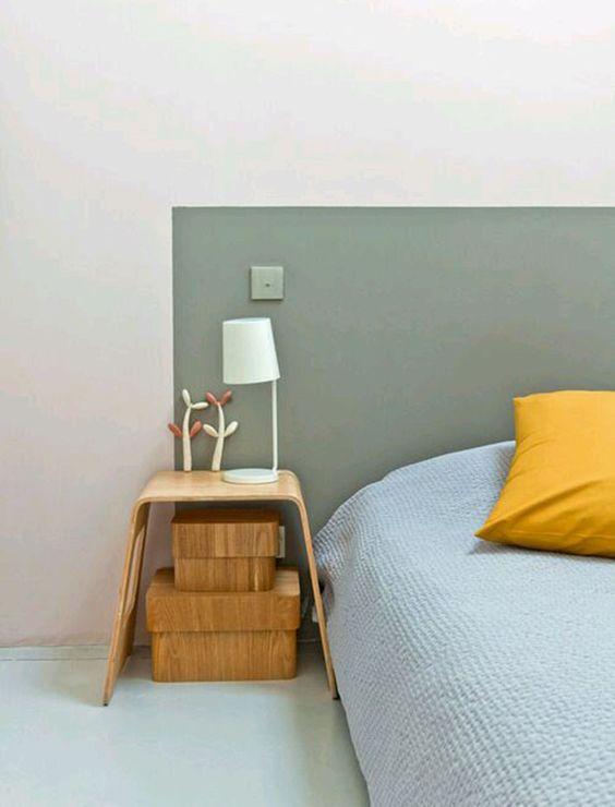 cabeceira de cama pintada 2