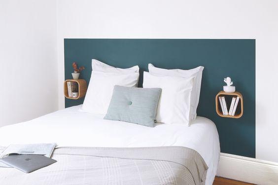 cabeceira de cama pintada 3