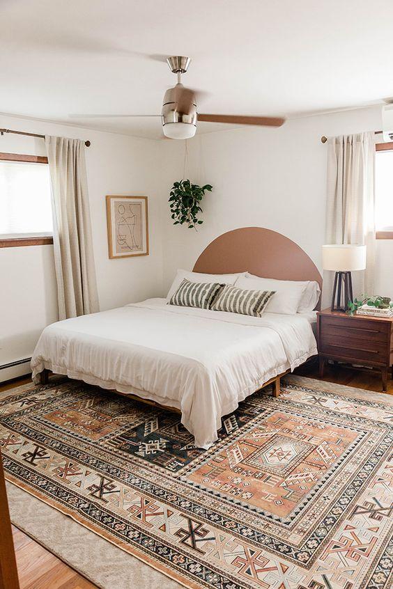 cabeceira de cama pintada 5