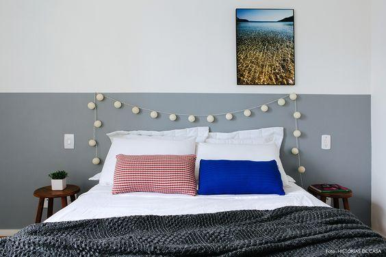 cabeceira de cama pintada 6
