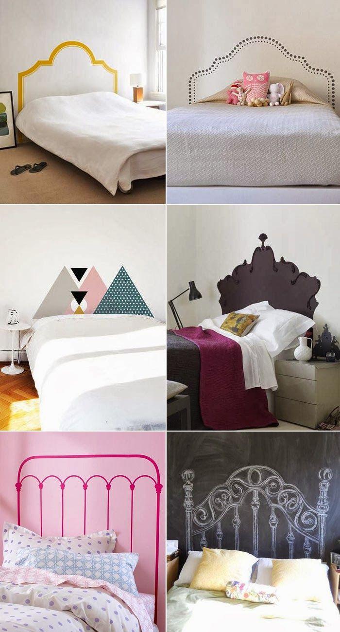 cabeceira de cama pintada 9