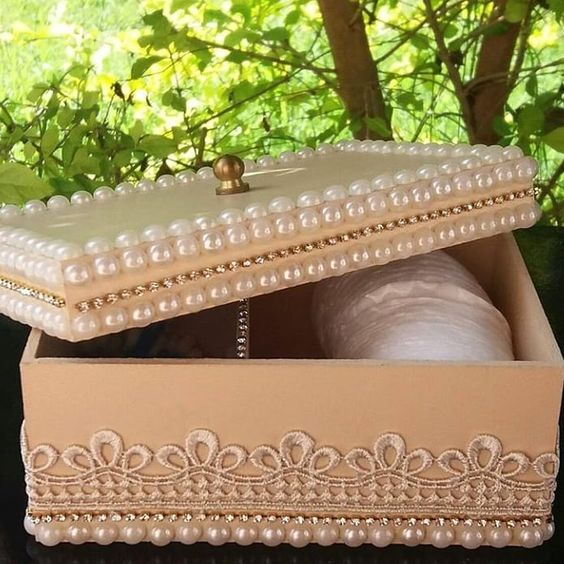 caixa mdf decorada casamento 2