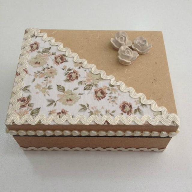 caixa mdf decorada tecido 1
