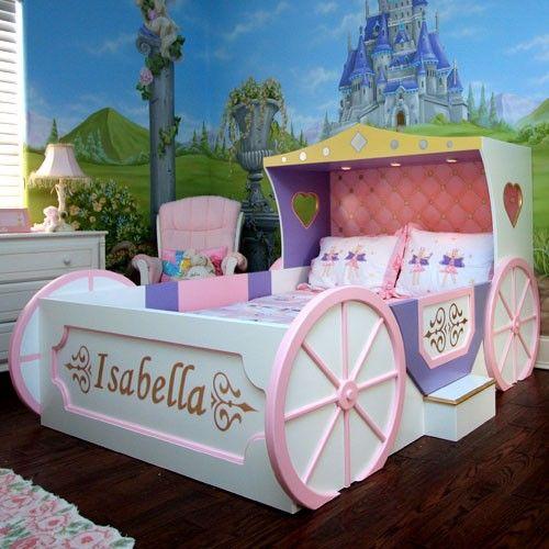 cama de criança castelo princesa
