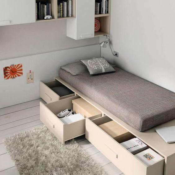 camas espaços pequenos 4