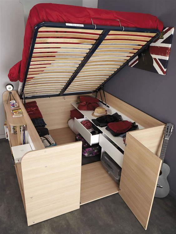 camas espaços pequenos