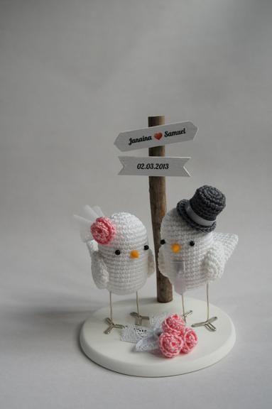 casamento croche noivinhos 3