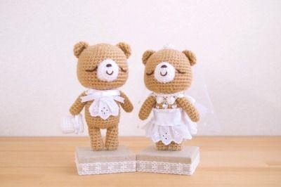 casamento croche noivinhos 4