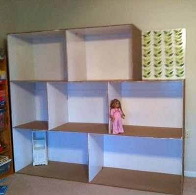 casinha de brinquedos cartão