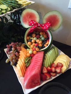 cesto fruta minnie