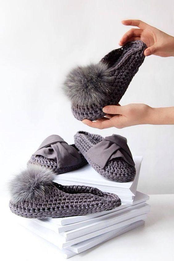 chinelos trapilho croche 3