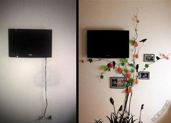 como esconder fios parede 10