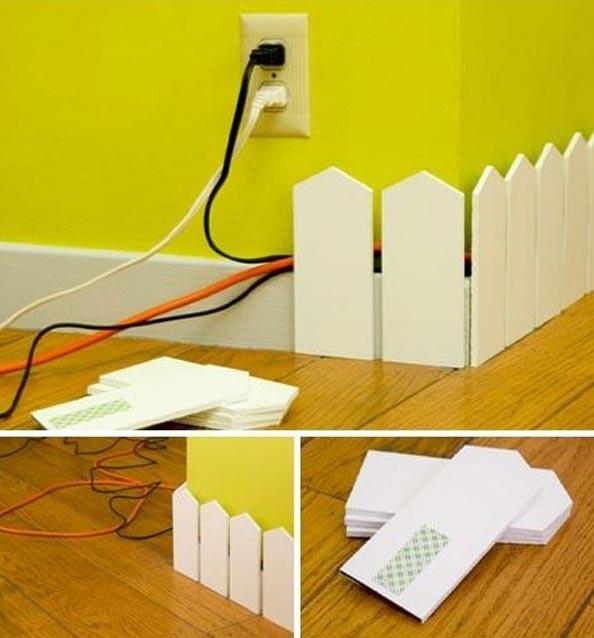 como esconder fios parede 2