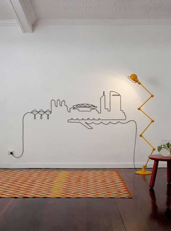 como esconder fios parede 5