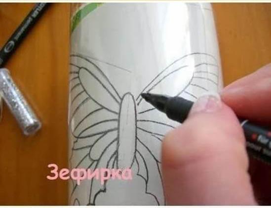 como-fazer-borboletas-com-garrafas-2