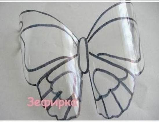 como-fazer-borboletas-com-garrafas-4