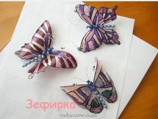 como-fazer-borboletas-com-garrafas-7