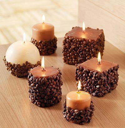 como fazer velas decoradas