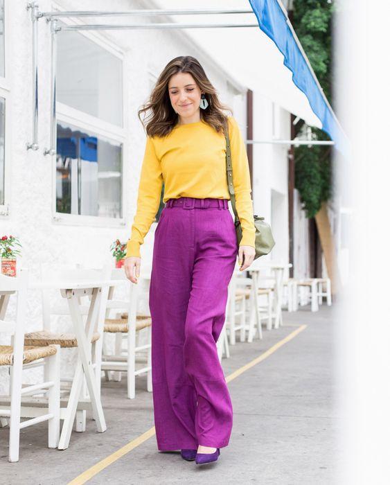 como usar calcas coloridas 4