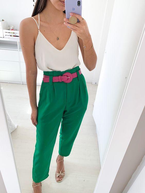 como usar calcas coloridas 9