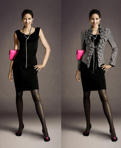 como usar casaco vestido 3