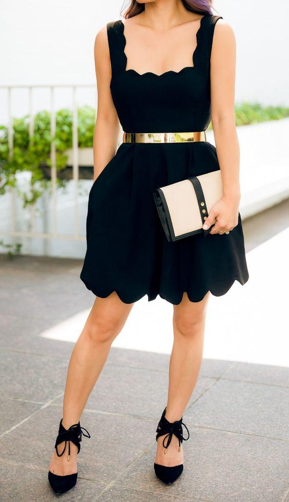 como usar vestido preto 2