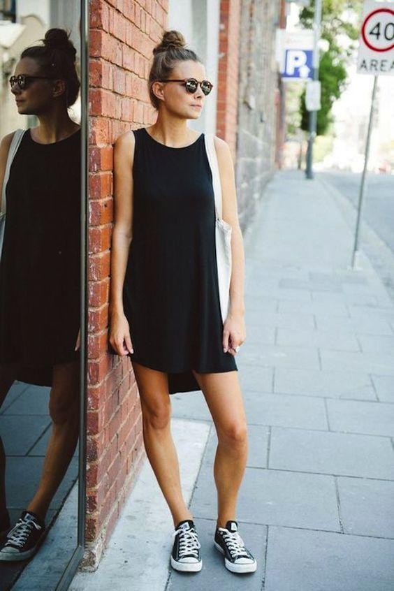como usar vestido preto 7