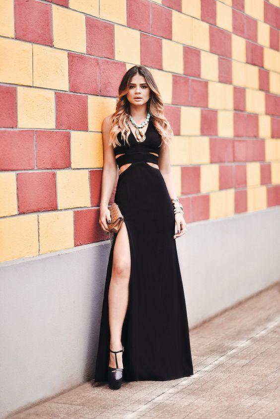 como usar vestido preto 8