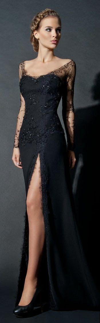 como usar vestido preto 9