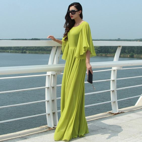 como usar vestidos longos verao 4
