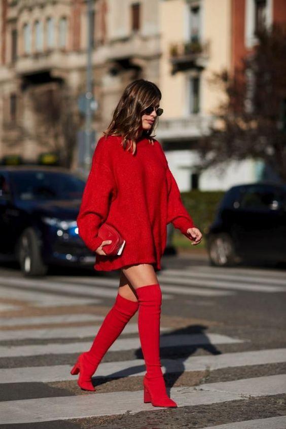 como usar vestidos outono inverno 1
