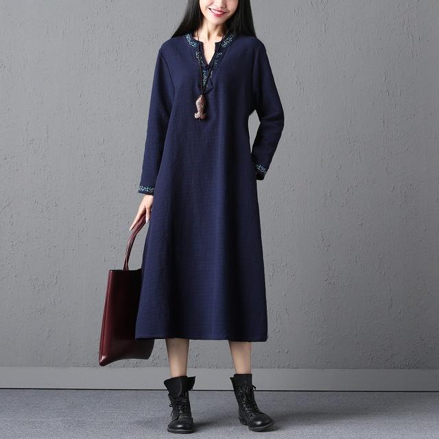 como usar vestidos outono inverno 10