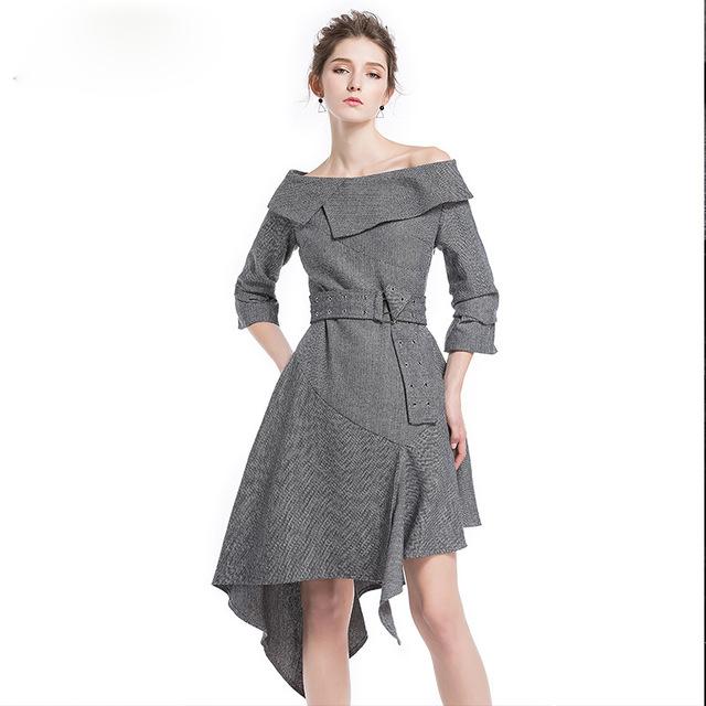 como usar vestidos outono inverno 5