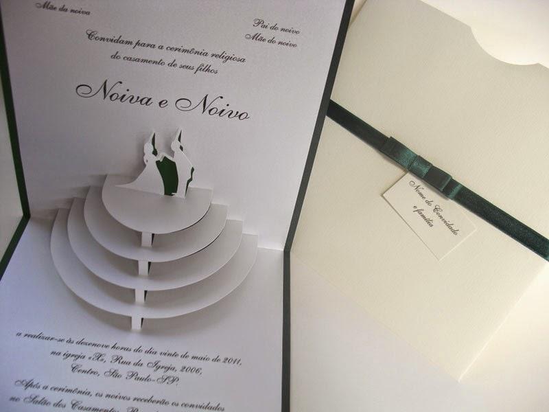 convites de casamento tridimensionais 6
